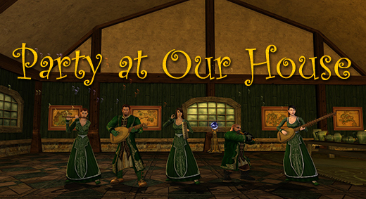 LOTRO Academy: 66 - Party at Our House