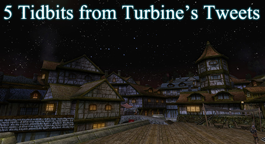 LOTRO Academy: 72 - 5 Tidbits from Turbine's Tweets